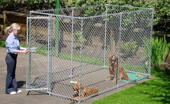 Recinzione da esterno per cani